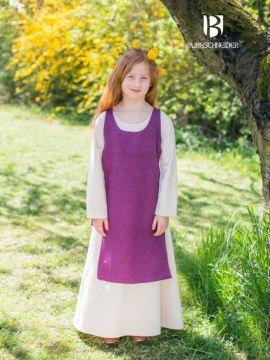 Ensemble robe Ylvi et chasuble Ylva 116 | vert mousse