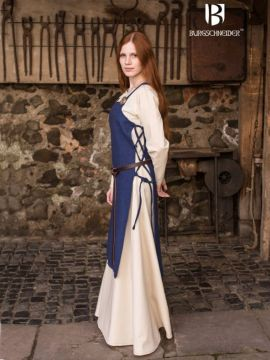 Robe tablier Gyda en bleu L