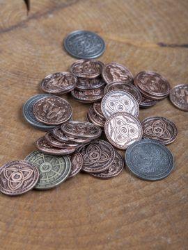 Pièces de monnaie GN Magie sans pochette en cuir