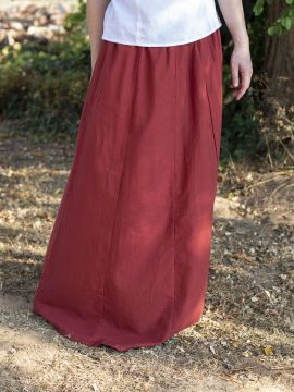 Jupe Médiévale rouge