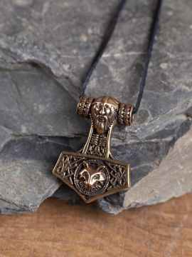 Pendentif Grand marteau de Thor en bronze