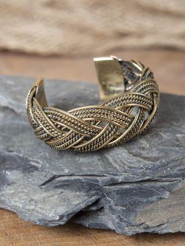 Bracelet Viking motifs joncs tressés