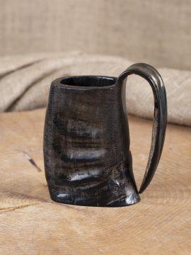 Mug en corne de buffle, 12,5 cm