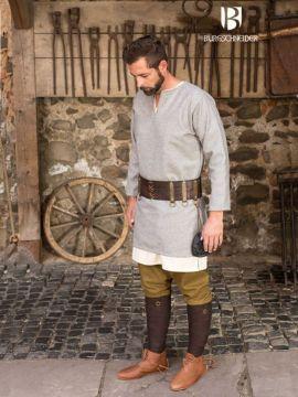 Tunique en laine Lodin en gris XXL