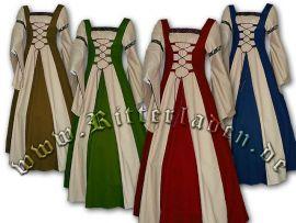 Robe de gente dame Sybille jusqu'au 48 | bleu