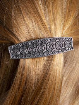 Barrette à cheveux  motifs Spirale