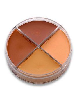 Cosmétique crème couleurs peau