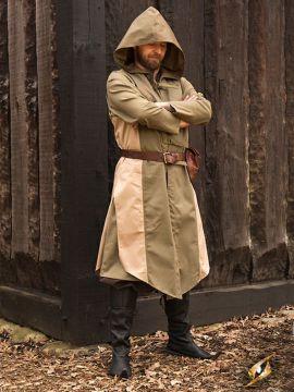 Manteau Altair beige-vert olive L/XL