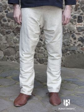 Pantalon viking Thorsberg en blanc-écru XXL