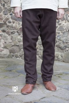 Pantalon Viking Fenris en marron XL