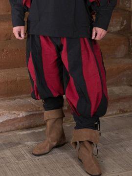 Pantalon lansquenet rouge/noir M