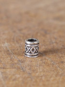 Perle Viking avec motif diamants lot de 5