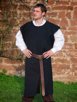 Tabard médiéval noir