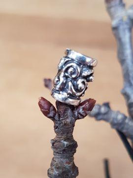 Perle Viking avec motif en spirale à l'unité