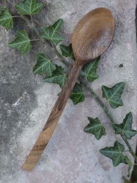 Grande cuillère en bois d'acacia