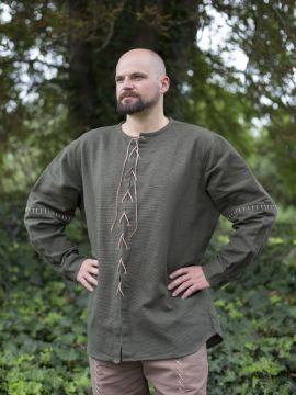 Chemise lacée verte L-XL