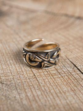 Bague Viking en bronze petit
