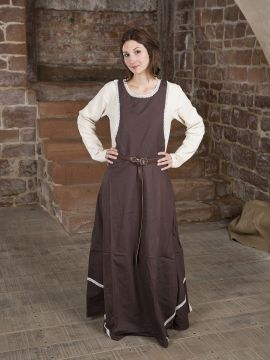 Robe chasuble marron L/XL