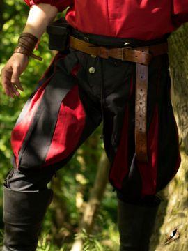 Pantalon Lansquenet noir/rouge L