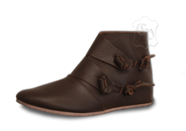 "Bottines ""Knut"" marron 42"