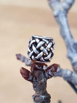 Perle Viking motif quadrillage