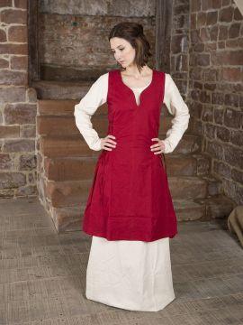 Surcot en coton épais rouge XL