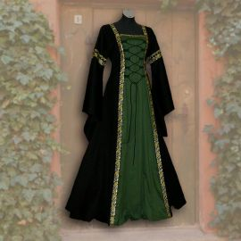 Robe Iris noire-verte 36 - 42