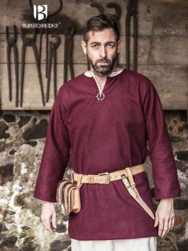 Tunique en laine Lodin en rouge XXXL