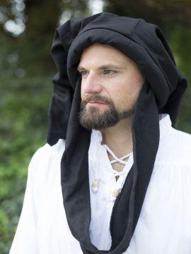 Chapeau sac en laine, noir 62