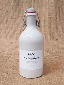 """Hydromel """"Sang de Viking"""", bouteille en argile 6 bouteilles"""
