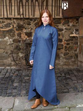 Longue robe Ranwen, bleue XXXL