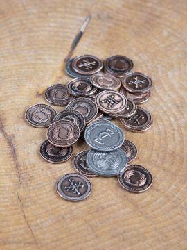 Pièces de monnaie GN Dragon sans pochette en cuir