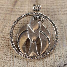 Amulette faucon bronze