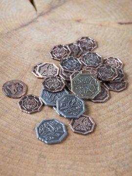 Pièces de monnaie GN Gnomes sans pochette en cuir