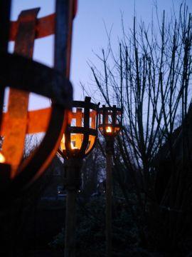 Torche Médiévale Mèche