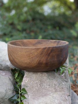 Bol de service en bois d'acacia 30 cm