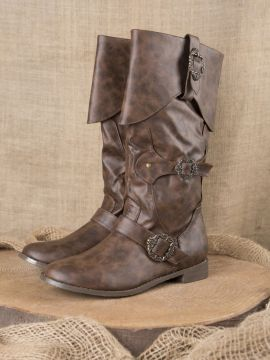 Bottes de pirates en marron 44