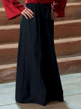 Jupe Médiévale noire L/XL