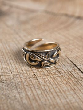 Bague Viking en bronze grande