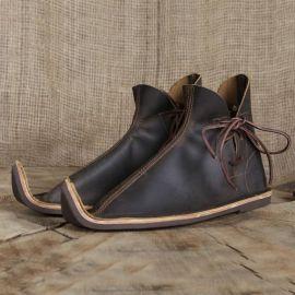 Chaussures médiévales poulaines 46 | marron
