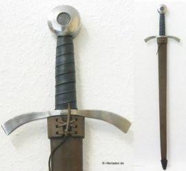 Fourreau fait main pour épée à une main   noir