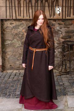 Manteau Enya en marron S/M