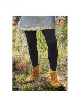 Culottes médiévales noires
