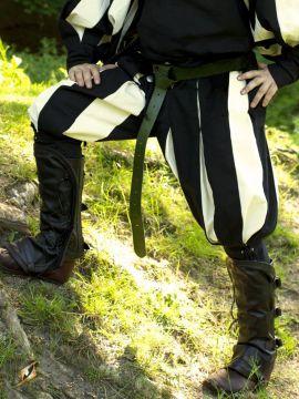 Pantalon Lansquenet noir/écru XXL