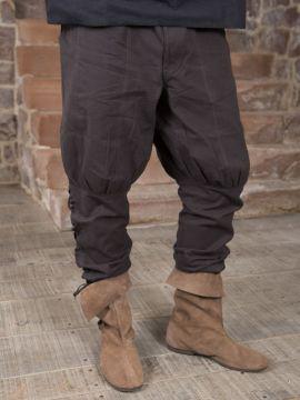 Pantalon en coton en marron L