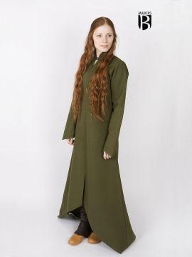 Longue robe Ranwen, vert olive L