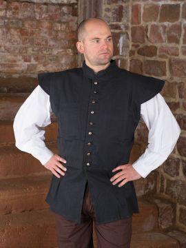 Veston médiéval XL | noir