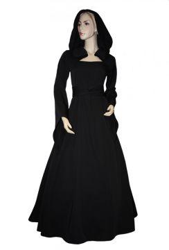 Robe Médiévale Julia en noir 54