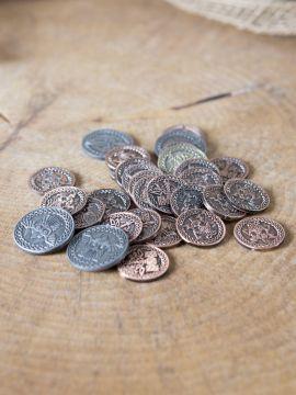 Pièces de monnaie GN Normands sans pochette en cuir