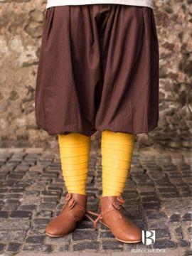 Pantalon bouffant kévian en marron L